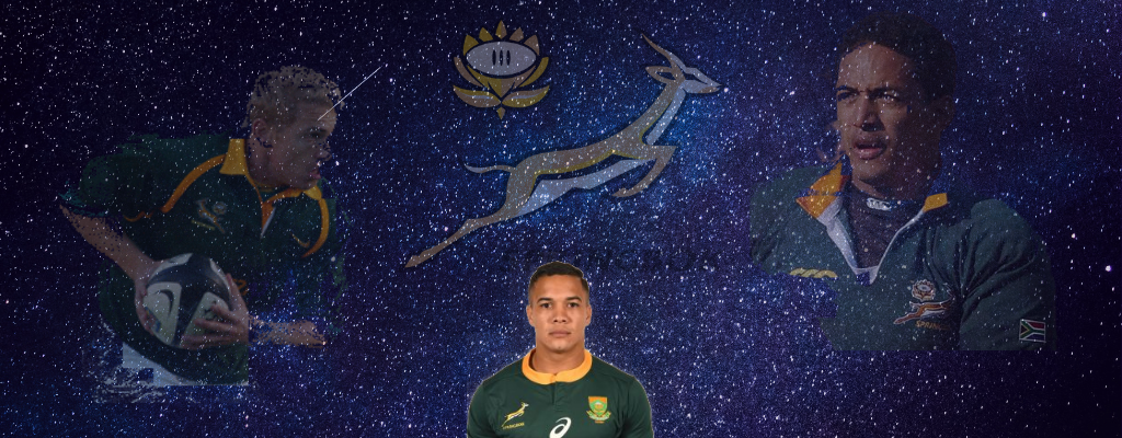 Cheslin Kolbe Cover